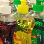 روشهایی برای استفاده از مایع ظرفشویی در خانه داری