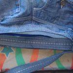 آموزش دوخت کیف با شلوار جین قدیمی