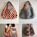 آموزش دوخت یک کیف پارچه ای دورو بسیار زیبا در خانه