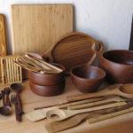 نکاتی برای تمیز کردن ظروف چوبی