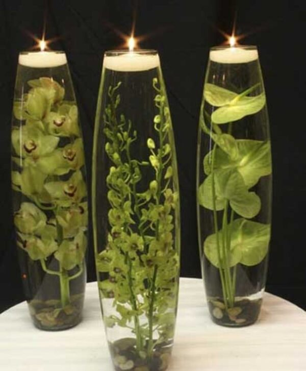 تزیین شمع با وسایل ساده