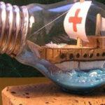 نحوه ساخت چراغ نفتی با لامپ سوخته