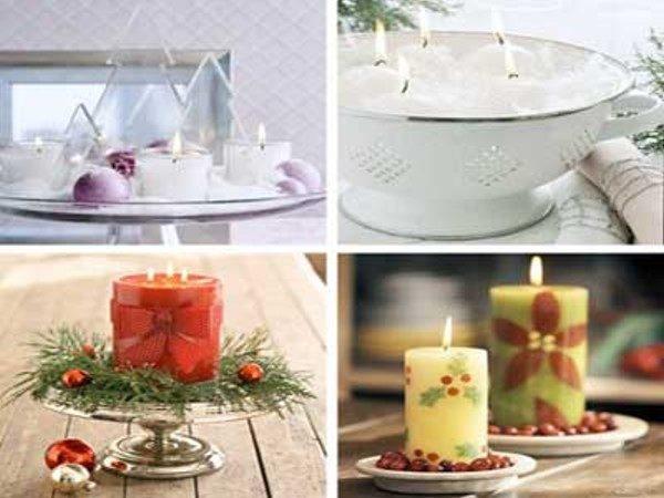 آموزش تزیین شمع ساده با سوزنهای تزئینی در منزل