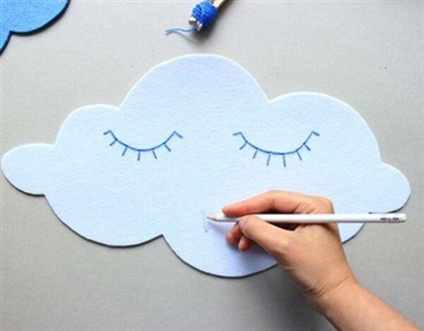 آموزش تزیین زیبا و ساده برای اتاق کودک +تصاویر