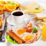 ایده هایی برای تزیین تخم مرغ صبحانه