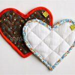 درست کردن دستگیره های آشپزخانه به شکل قلب