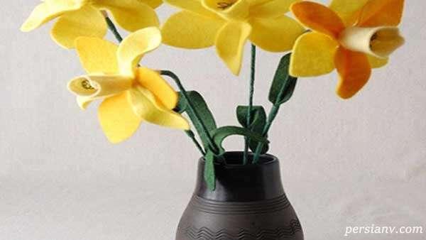 آموزش ساخت گل با فوتر در خانه