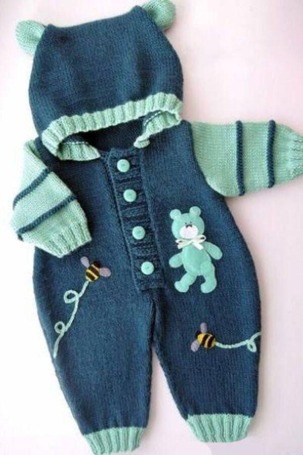 بافت لباس سرهمی نوزاد