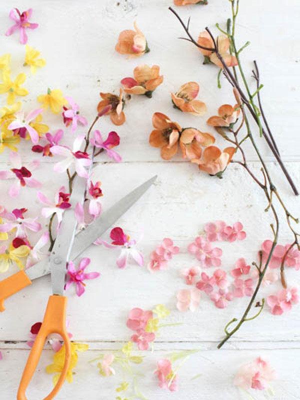 تزیین عکس با گل