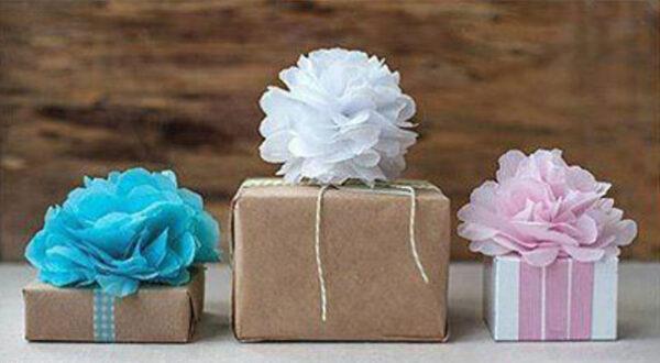 ساخت و تزیین جعبه های گل سر