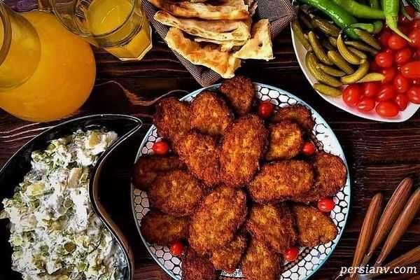 فوت وفن ریز و مهم برای پخت کتلت اصیل و خوشمزه ایرانی
