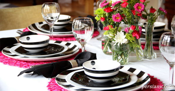 چیدمان میز