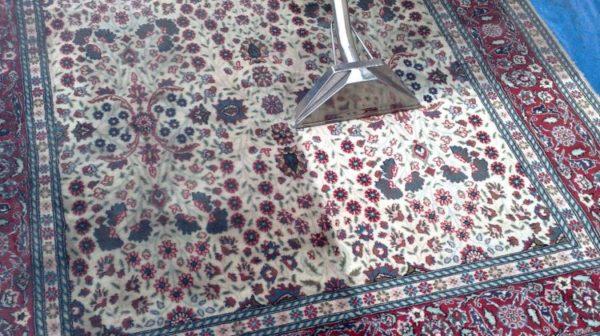 فرش کاشان قالی کاشان شستشوی فرش