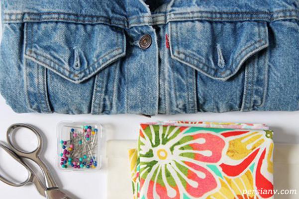 طراحی لباس جین