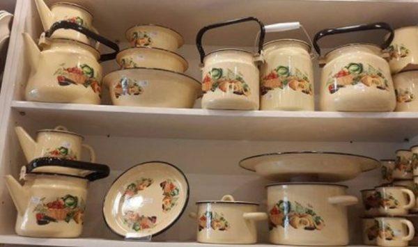 طرز استفاده از ظروف لعابی
