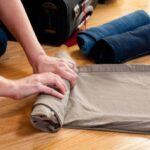 اصول صحیح چیدمان لباس در چمدان