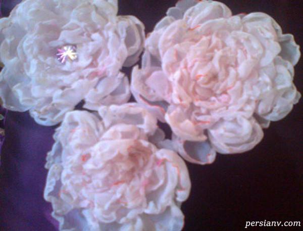 آموزش ساخت گل رز حرارتی