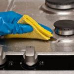 روش های تمیز کردن قطعات اجاق گاز