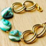 ساخت دستبند با مهره و زنجیر