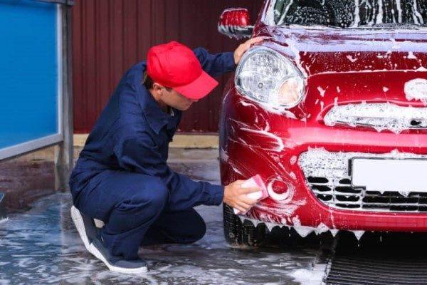 نحوه شستن خودرو