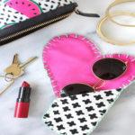 دوخت کیف زیبای مخصوص عینک