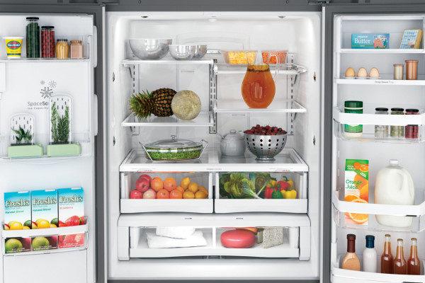 استفاده از یخچال فریزر
