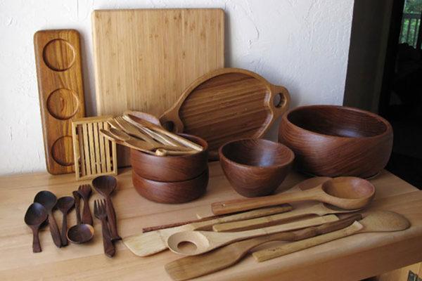 نگهداری ظروف چوبی