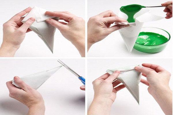 ساخت قیف کاغذی