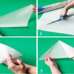 ساخت قیف کاغذی برای تزیین شیرینی