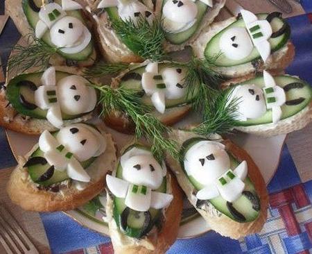 ایده های تزیین پنیر برای افطار+تصاویر