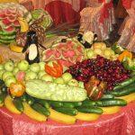 ایده هایی برای تزیین میوه روی میز+تصاویر