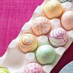 تخم مرغ رنگارنگ عید / جدیدترین مدل تزیین تخم مرغ سفره هفت سین +تصاویر