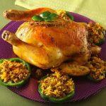 تزئینات مرغ شکم پر+تصاویر