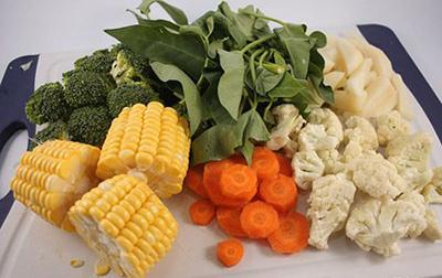 استفاده از سبزیجات در آشپزی