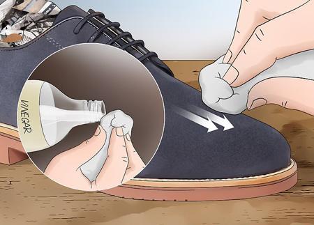 تمیز کردن کفش جیر