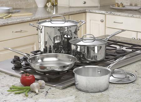 استفاده از ظروف استیل