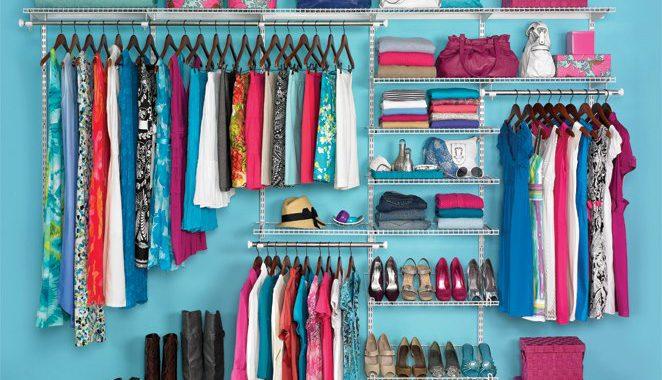 مرتب کردن لباس ها