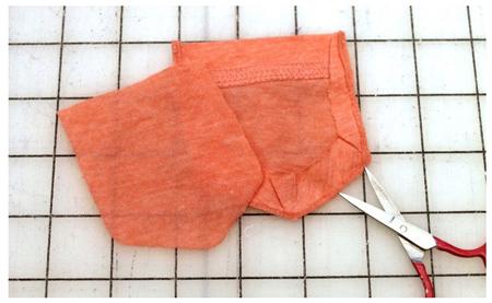 تزیین لباس کهنه