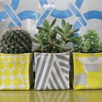 آموزش دوخت کاور برای گلدان های مربع + تصاویر