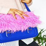 آموزش تزئین ساده و زیبا کیف دخترانه با خز+تصاویر