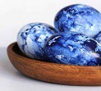 آموزش تزیین تخم مرغ های مرمری سفره هفت سین+تصاویر