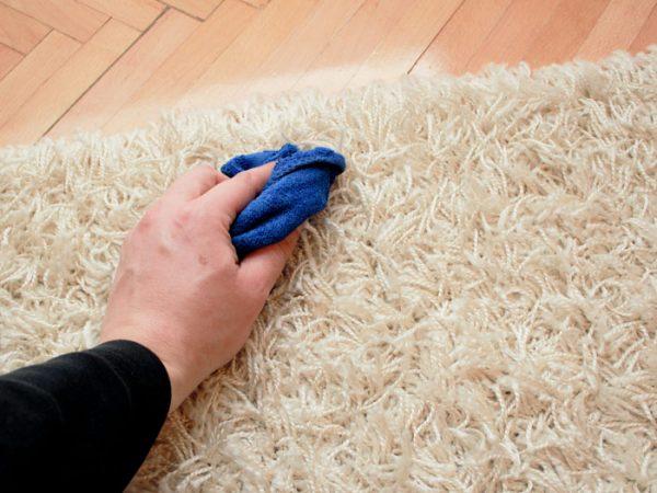 تمیز کردن قالی