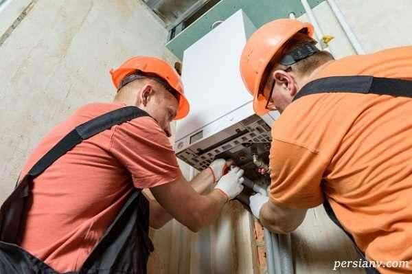 بازارکار نصب و تعمیرات پکیج و کولر گازی