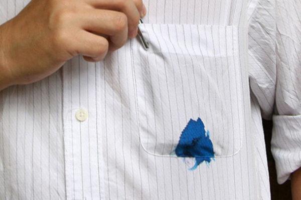 نحوه پاک کردن جوهر از روی لباس
