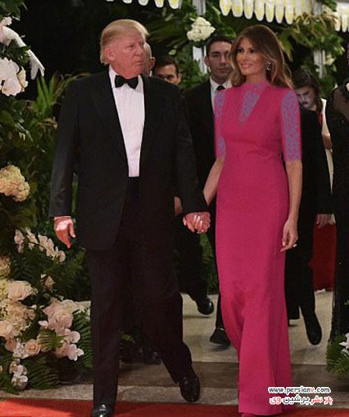 ملانیا ترامپ و انتشار اولین عکس رسمی وی در کاخ سفید +عکس