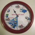 تزئین ساعت   روشی خلاقانه برای تزئین ساعت اتاق کودک