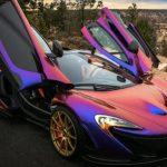 خودروهایی با رنگ های منحصر به فرد و دیدنی + تصاویر