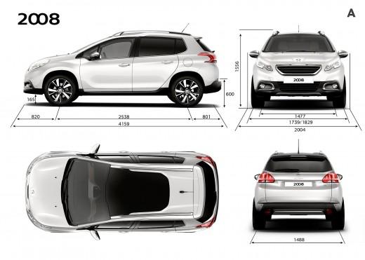 ایران خودرو جزئیات جدیدی از تولید و فروش پژو 2008 را اعلام نمود+تصاویر