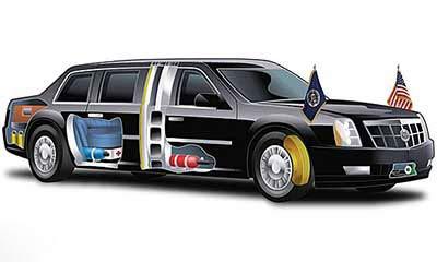 خودروی تشریفات اوباما چه شکلی است؟