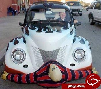 خودرو های عجیب و غریب